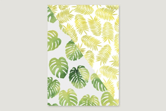 "Wrapping paper: ""Monstera.Leaf"""