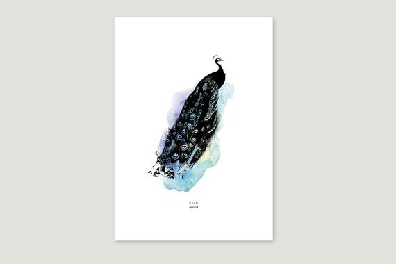 "Art Pressure/Fine Art Print: ""Peace.Klecks"""