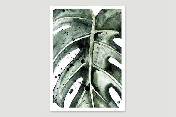 "Art Pressure/Fine Art Print: ""Monstera.Gross"""