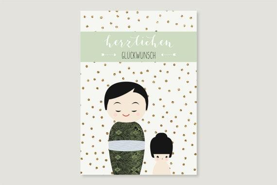 """Postcard: """"BRUDER sister"""""""