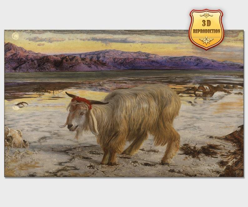 bff4746cb4b1e William Holman Hunt. The Scapegoat Fine Art Giclee Print