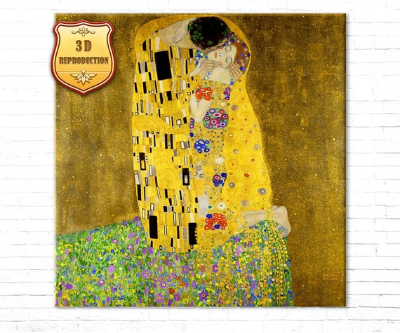 The House of Guard by Gustav Klimt Giclee Fine ArtPrint Repro on Canvas
