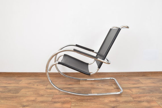 Superb Mid Century Italian Rocking Chair From Fasem 1960S Gmtry Best Dining Table And Chair Ideas Images Gmtryco