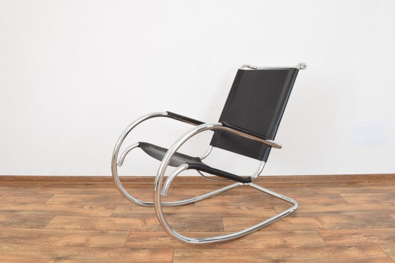 Admirable Mid Century Italian Rocking Chair From Fasem 1960S Gmtry Best Dining Table And Chair Ideas Images Gmtryco