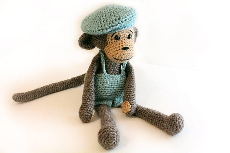Crochet PATTERN Monkey Monkey Amigurumi Monkey Stuffed image 0