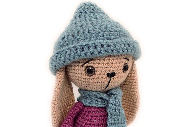 Crochet PATTERN Rabbit Bunny Amigurumi Rabbit pattern image 0