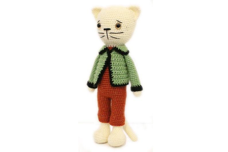 Crochet  PATTERN Cat  Kitty  Amigurumi Cat pattern  Crochet image 0