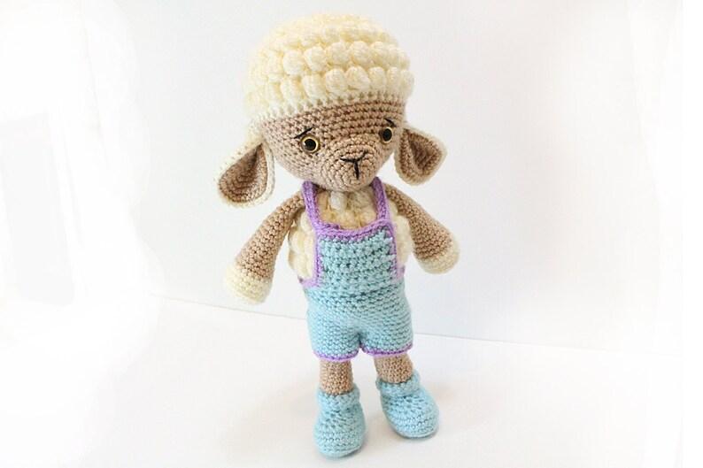 Crochet Lamb PATTERN  Sheep  Amigurumi Lamb pattern  image 0