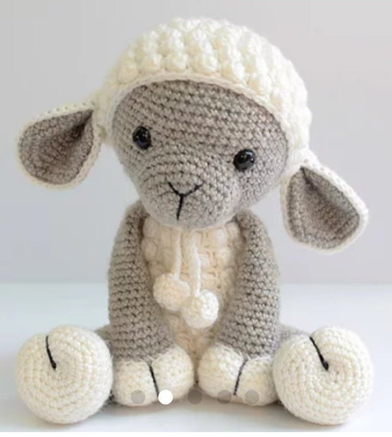 Crochet Lamb Pattern Sheep Amigurumi Lamb Pattern Etsy
