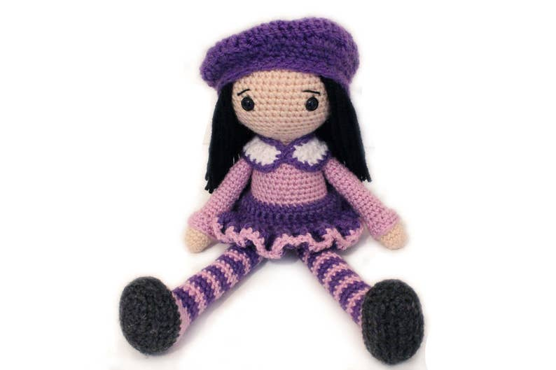 Crochet PATTERN Amigurumi Doll Crochet Doll Doll Amigurumi image 0