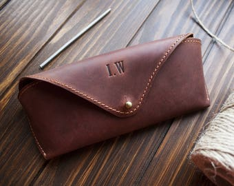 e3b381c2bf2b Leather glasses case