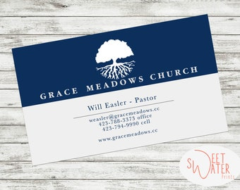Pastor Calling Cards Etsy