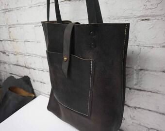 leather tote .leather tote bag. leather bag . handmade tote bag . custom leather bag .brown leather tote.tote bag sale.tote bag sale