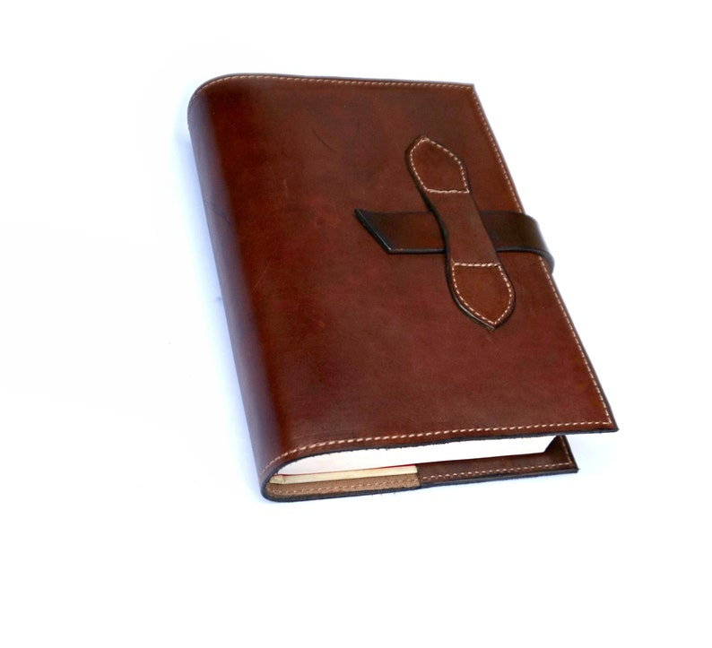 Can Be Personalized. Crafts Large Custom Made Leather Bible Cover