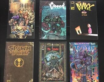 Image Comic Book Lot (6 comics) (Spawn, The Maxx, Arcanum, The Creech, The Tenth)