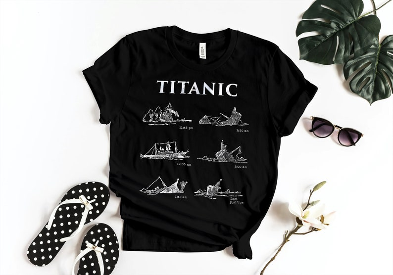 Titanic Shirt Titanic Movie T Shirt Vintage Titanic Tee image 0