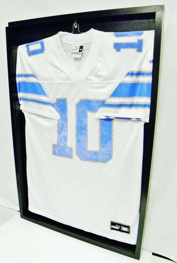 Jeresy Display Cases Jeresy Frames Football Jersey display | Etsy