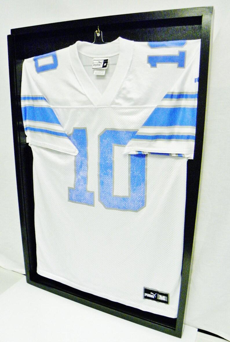 75fc693c2f5 Jeresy Display Cases Jeresy Frames Football Jersey display | Etsy