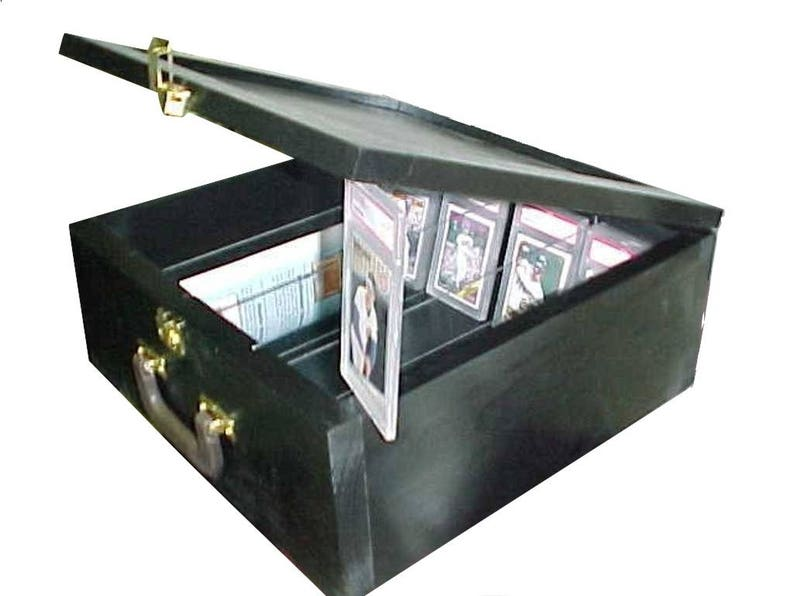 Card Storage Baseball Card Display Case For Graded And Ungraded Cards