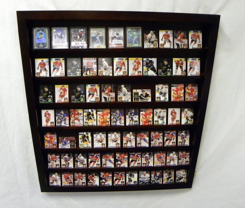 Wall Mount Baseball Card Display Case