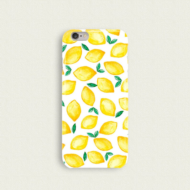 iphone 8 lemon phone case
