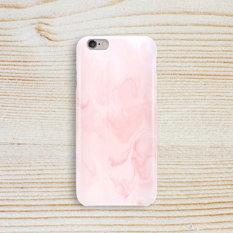 best service 82d65 123a7 Pink marble iPhone case Marble phone case iPhone 7 case iPhone 8 case  iPhone X case Protective iPhone 6 Plus case iPhone 5 case for girl