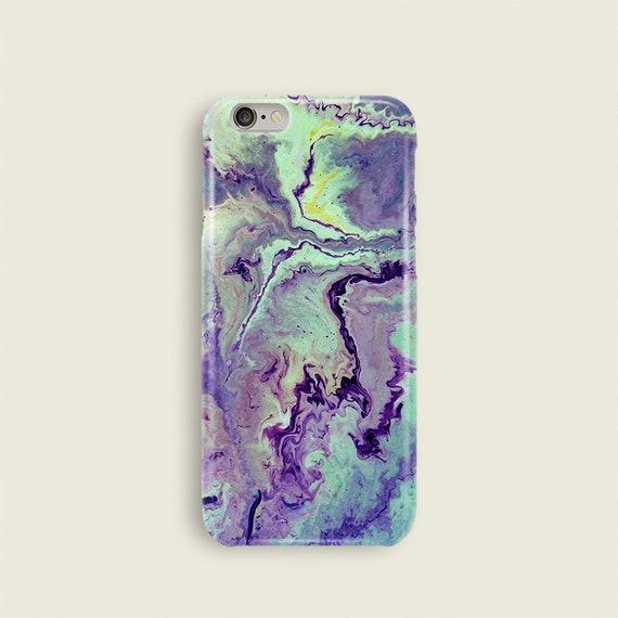 Marble iphone 7 case iPhone 8 case purple iPhone 7 case green marble iPhone 7 Plus case universal iphone 5 case iphone 7 phone case iPhone 6