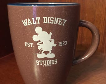 Vintage Walt Disney Studios Mickey Mouse Coffee Cup/Mug.