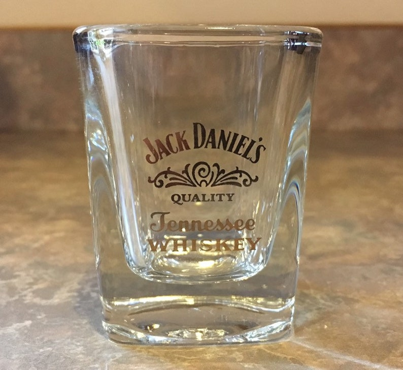 7 Tennessee Whiskey Black Acrylic Shots Jack Daniel/'s Old No