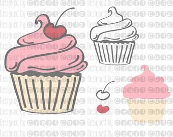 Download Cupcake dessert | Etsy