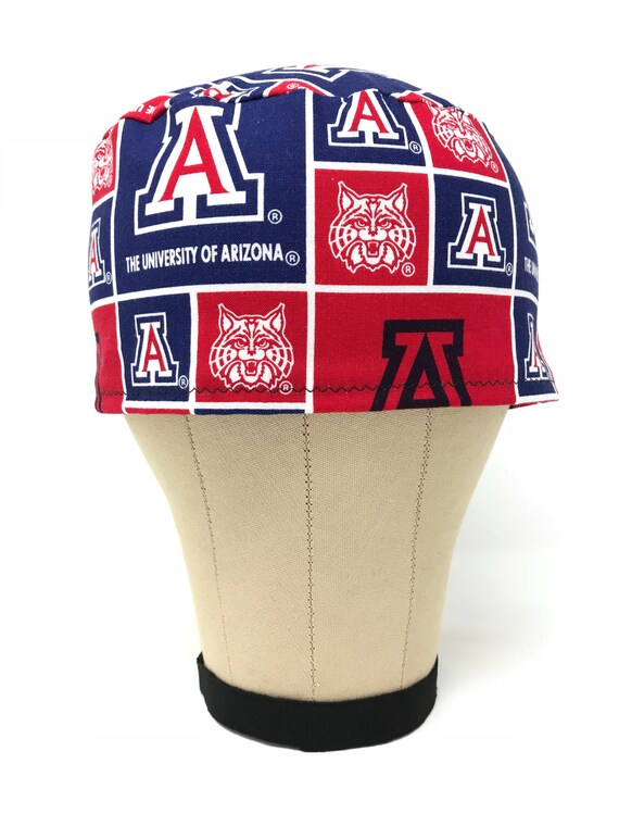 9884369d040e1 University of Arizona Scrub Hat   Surgical Hats   Skull Caps