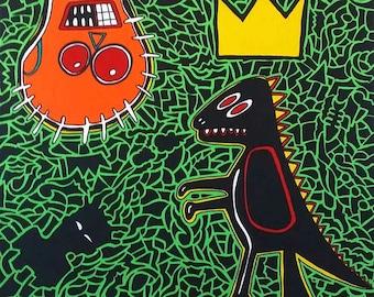 Homage to Basquiat-Homage to Basquiat