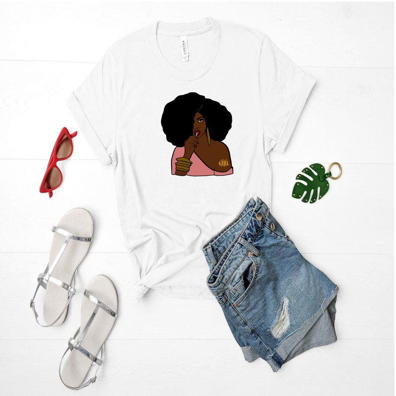 e08f7d839c1 Black Girl Magic shirt HBCU educated tops tees black