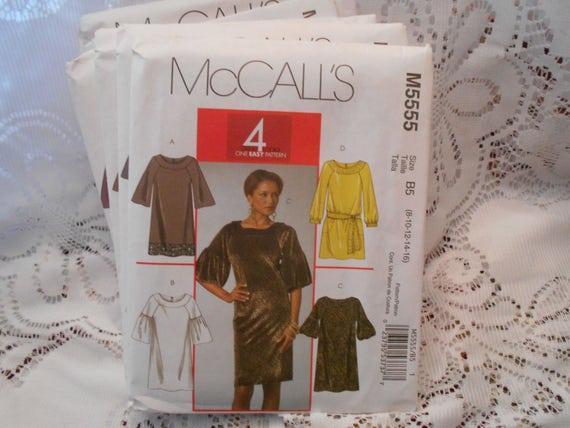 Free Shipping Mccalls Plus Size Dress Pattern Misses Tunic Etsy