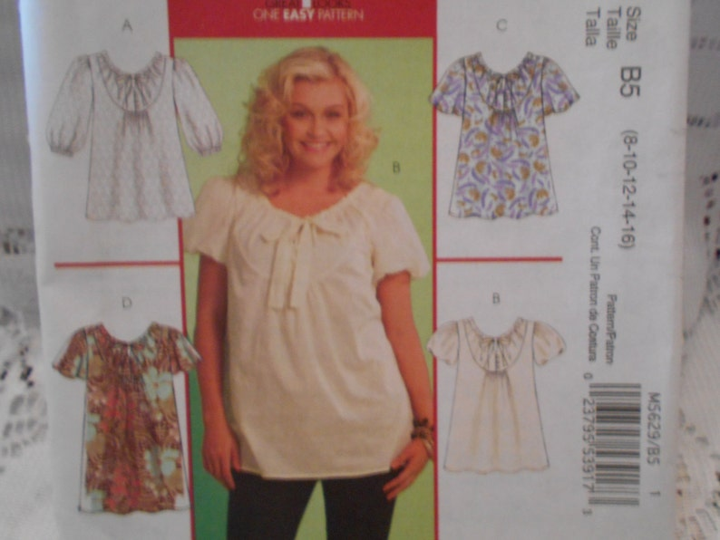 3662b086697daa McCalls Patterns summer top patterns women's patterns | Etsy