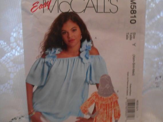 McCalls Patterns Sewing Patterns Paper Patterns Womens Etsy New Mccalls Patterns
