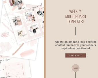 Week Moodboards + Brushes + Papers