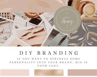 DO IT YOURSELF brand Mia Avery | brand | Branding