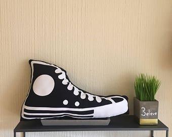 "Converse Shoe Pillow 10X18"""
