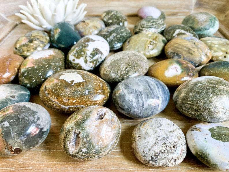 Ocean Jasper Palm Stone