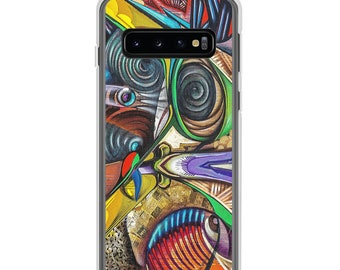 Samsung Phone Case, Abstract Art Phone Cover, Samsung Accessories, Multiple Sizes Available, Free Shipping
