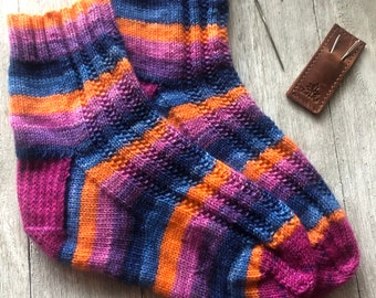 MEET ME at SUNRISE Sock Pattern - Digital Copy
