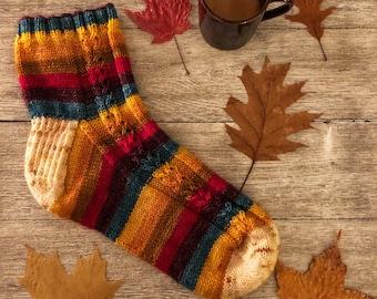 AUTUMBLE Sock Pattern  - Digital Pattern