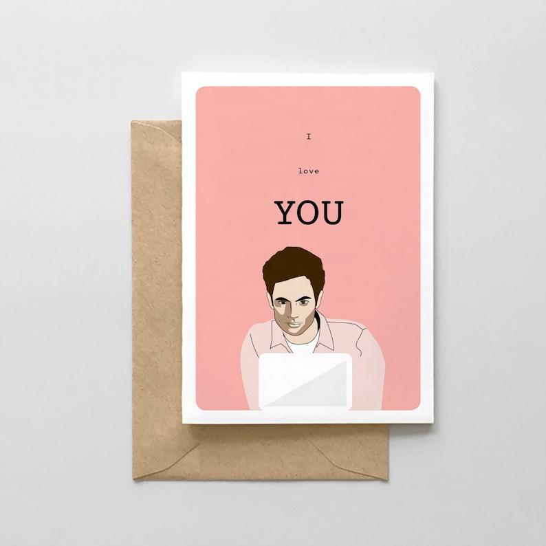 Joe Goldberg Card Funny Love Card I love YOU!