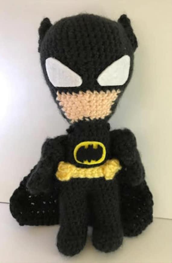Crochet Pattern Batman Inspired Sock Doll Etsy