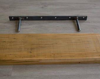 Floating Shelf Bracket - Metal (shelf bracket, shelf, diy, floating shelves, floating shelf, metal bracket, wall bracket, wall shelf