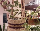 "AIRE Nest Plant Hangers, Mama Mochila Original ""AIRE"" Line, Made by Nature"