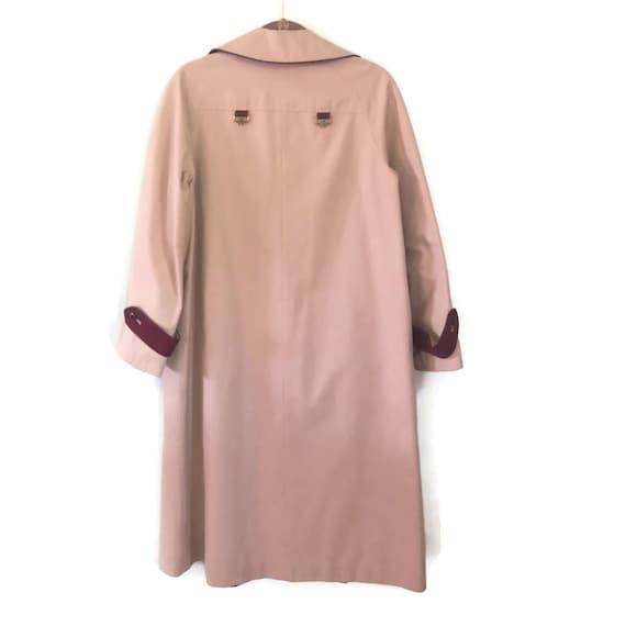 Etienne Aigner Reversible Trench Coat Rain Coat - image 6