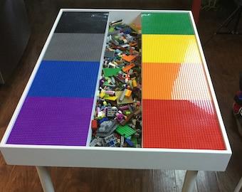 Lego Table Etsy