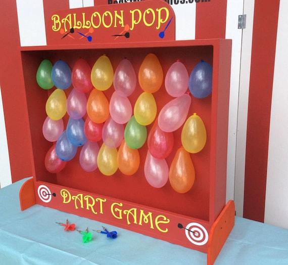 Balloon Dart Game Target Gallery Dart Balloon Carnival Game Etsy